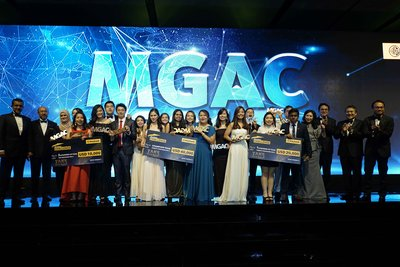 Top 3 Winners of MGAC 2017