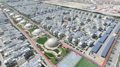 Modul PV Buatan Trina Beroperasi di Sustainable City, Dubai