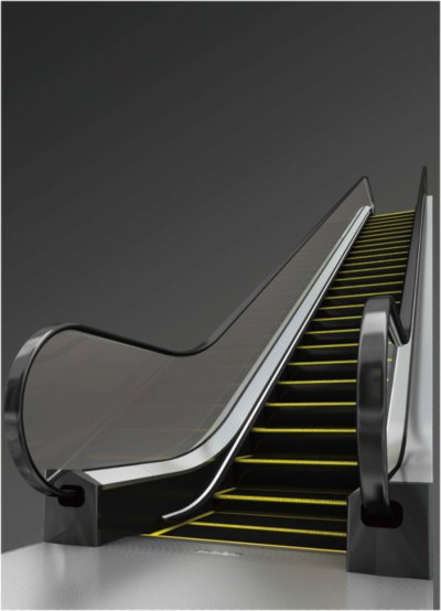 External appearance of the new TX Series escalator
