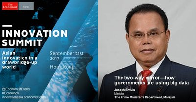 Is big data too big for Asian governments? Meet with Joseph Entulu, minister at The Prime Minister's Department in Malaysia and other policy makers at the Innovation Summit 2017 to discuss how governments can make the most of big data.