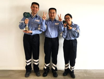 Air Liquide China Water Treatment team