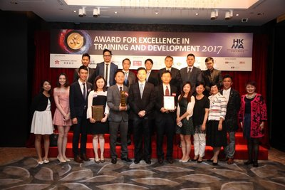 Hong Kong Airlines celebrates win at The Award for Excellence in Training and Development 2017