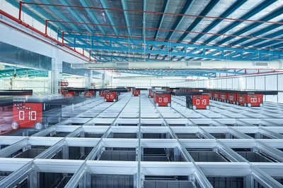 Swisslog AutoStore System, automated storage and order picking system