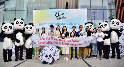 """Beautiful China, More than Pandas"" Campaign in Chiang mai"
