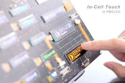 WiseChip to showcase In-Cell Touch OLED Display technology