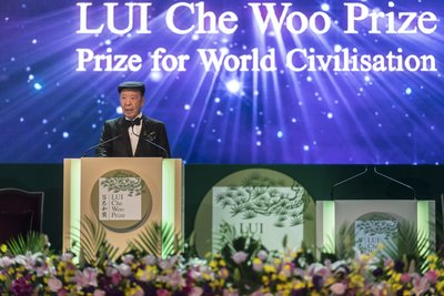 Dr. Lui Che Woo, Founder, LUI Che Woo Prize - Prize for World Civilisation.