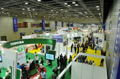 Trade Visitors at Exhibition Floor of IGEM 2017
