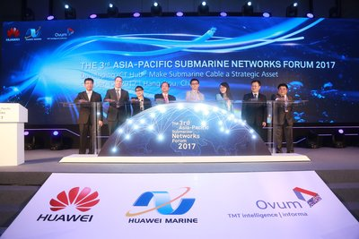 The 3rd Asia Pacific Submarine Networks Forum was co-launched by representatives from Huawei, Huawei Marine, and Ovum.