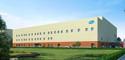 The expansion project of Pfizer Dalian factory, as an aseptic workshop