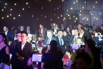 Honourees marched in to the JNA Awards 2017 Gala Dinner with pride