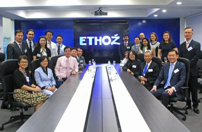 ETHOZ and its partner banks at the loan signing ceremony