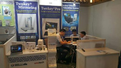 M&G, a Korean ICT device manufacturer is receiving great interest from related Vietnamese companies and visitors in KBEE 2017 Ho Chi Minh City