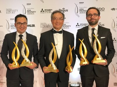 MGM COTAI wins an impressive six awards at the Asia Property Awards 2017.