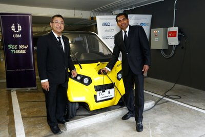 Cooperation between UBM Asia (Thailand) and EVAT for the coming 2018 EV Asia and iEVTech