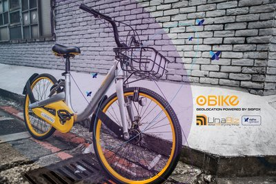 oBike partners UnaBiz to roll out geolocation services for one million bikes on Sigfox.