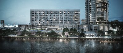 Capella Bangkok - View Of Facade By The Chao Phraya River