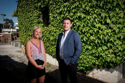 TRAVLR co-founders Simon and Lani te Hennepe look forward to providing a much needed solution for the travel industry