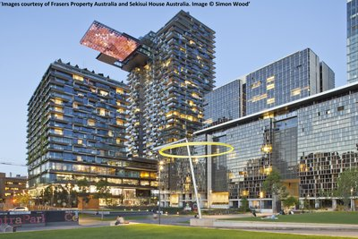 One Central Park Sydney - Proyek Robert Bird Group