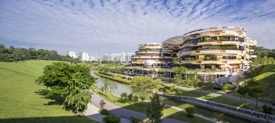 SAFRA Community Club Singapore - Proyek Surbana Jurong