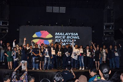 Winners of Malaysia Rice Bowl Startup Awards 2017