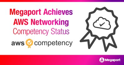 Megaport獲AWS Networking Competency能力認證