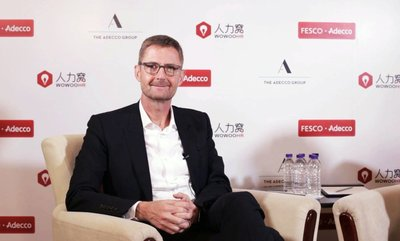 Mr. Stephan Howeg, Chief Marketing & Communications Officer of the Swiss Adecco Group