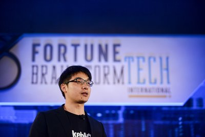 Makeblock Founder & CEO was invited to give a speech at Fortune Brainstorm TECH International