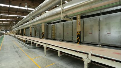 The plasterboard production line will be expanded to meet the growing demand of Vietnam's construction market.