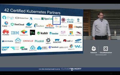 CNCF执行董事Dan Kohn公布全球通过KCSP和Certified Kubernetes Conformance Program认证企业名单,Caicloud位列其中