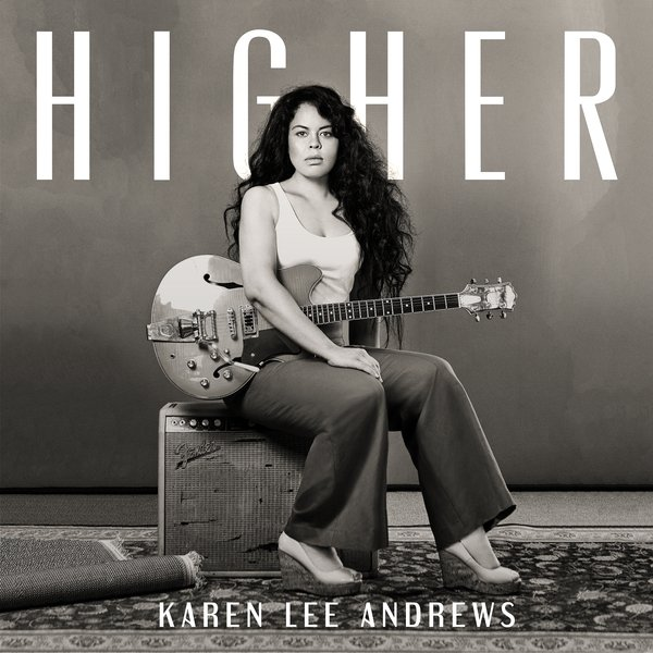 Karen Lee Andrews announces New Single 'Higher' from her forthcoming EP 'Far From Paradise'.