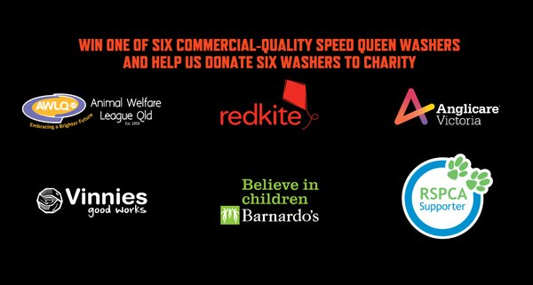 Participating charities include Animal Welfare League Qld, Redkite, Anglicare Victoria, Vinnies Good Works, Barnardo's, RSPCA