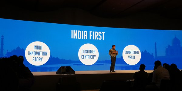 Mr. Suhail Tariq, the CMO for Honor India at Honor 9 Lite launch event