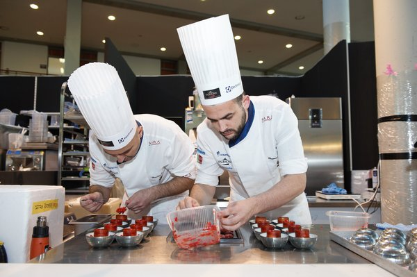 Coppa del Mondo of Gelateria 2018 -- Australian Team in action
