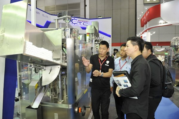 Live Filing Machine Demos at ProPak Asia Thailand