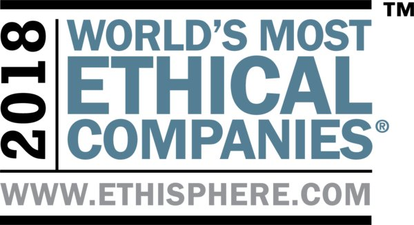 L'Oreal named as one of the World's Most Ethical Companies by the Ethisphere Institute for the 9th time