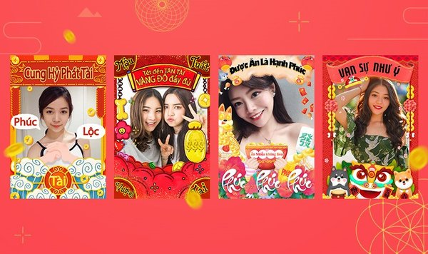 Meitu rolled out four special Vietnamese versions of Andy effects to wish a lucky and prosperous new year