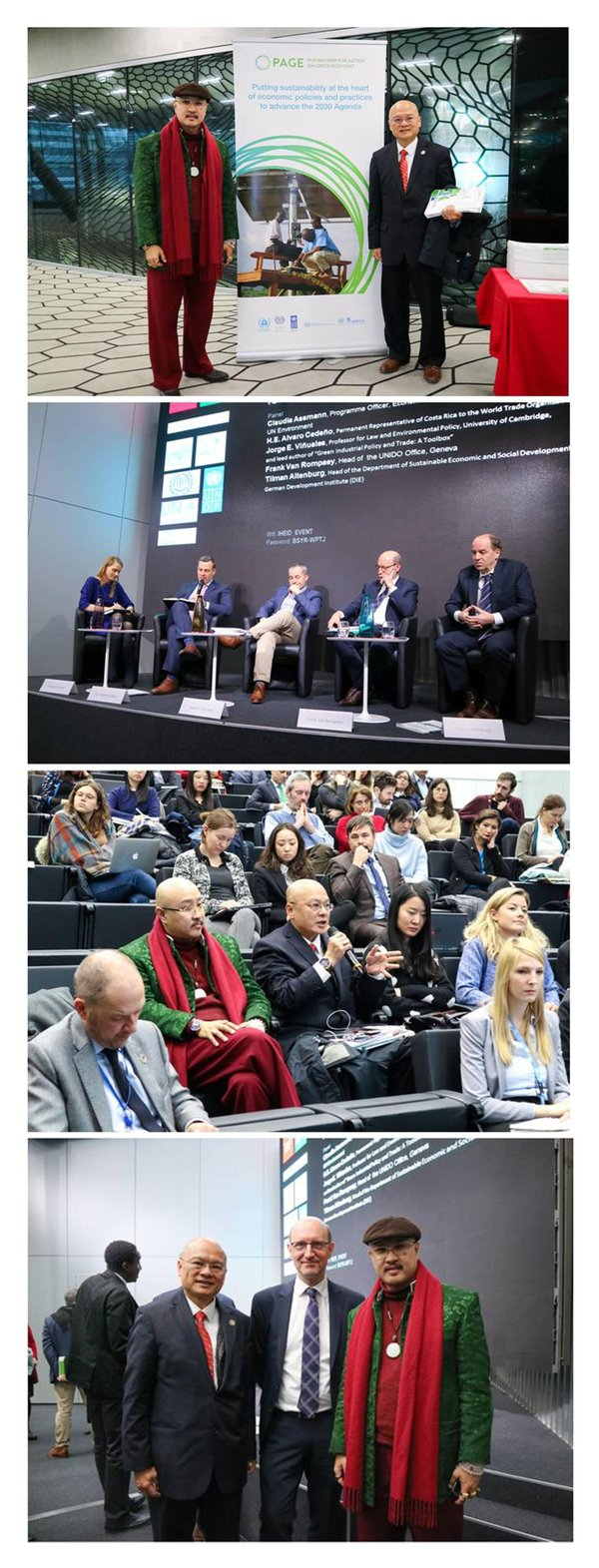 Datoa�� Sri Prof. Ng, Tat-yung and Dr. Johnny Ip were invited to the event; Top experts and scholars exchanged views at event; Dr. Johnny Ip spoke at event; Datoa�� Sri Prof. Ng, Tat-yung and Dr. Ip with Frank Van Rompaey