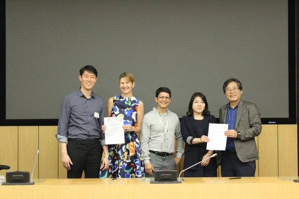 MoU Signing Ceremony between Asia School of Business and Hanyang University