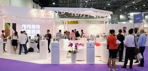Asia's first Champagne Lounge at ProWine Asia 2016