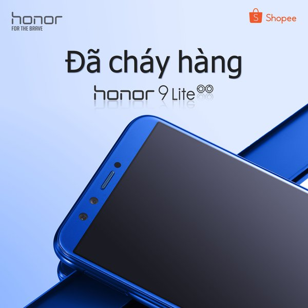 Honor 9 Lite sold out during first flash sale on Shopee