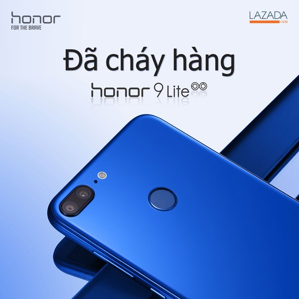 Honor 9 Lite sold out during first flash sale on Lazada
