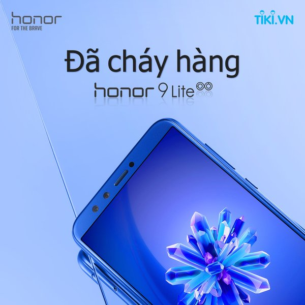 Honor 9 Lite sold out during first flash sale on Tiki