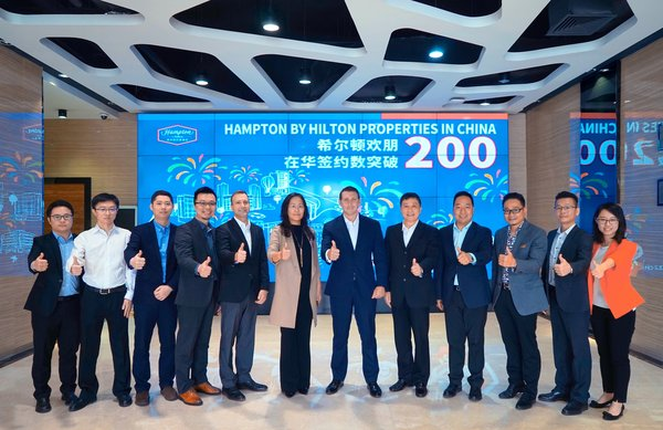 Hilton and Plateno Reach Major Milestone for Future Hampton by Hilton Hotels in China