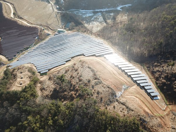 Sungrow supplied to a 1.5MW PV plant in Gongju-si, Chungcheongnam-do, South Korea