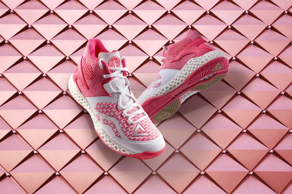 PEAK 3D print volleyball shoes.