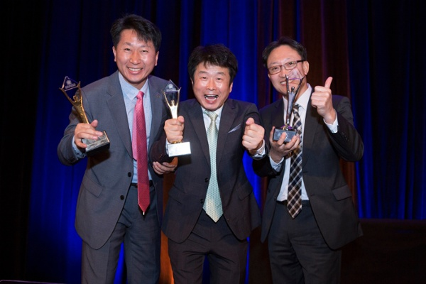 Winners of Asia-Pacific Stevie Awards