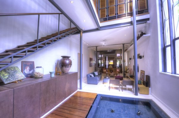 An exquisite corner pre-war heritage property in the heart of George Town UNESCO City. Modern architecture, filled with antique elements create a fascinating resort-like living space within the walls. Two-and-a-half storeys make for a very high ceiling, looking up from the ground floor to the ceiling of the air-well. https://bit.ly/2KbWBdL