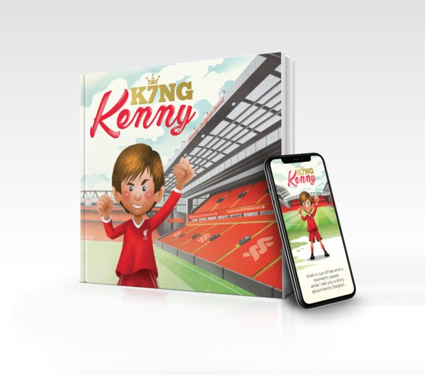 Read King Kenny, a children's book, to celebrate the life and legacy of Kenny Dalglish, the much-loved former Liverpool Football Club (LFC) player and manager. Launched by Standard Chartered Bank, a free copy of 'King Kenny' is downloadable online at www.sc.com/lfc125/kingkenny accompanied with a short film.