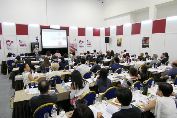 Full house at a ProWine Asia (Singapore) 2018 seminar session