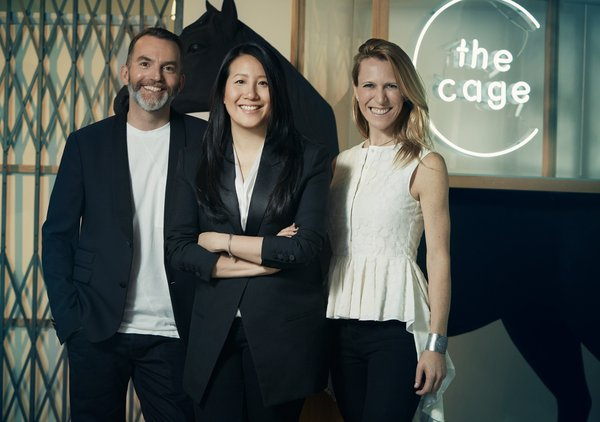 Left: Andrew Massey, Director of Innovation, Lane Crawford, Lead mentor and judge for The Cage; Centre: Jennifer Woo, CEO and Chairman, The Lane Crawford Joyce Group; Right: Cristina Ventura, Chief Catalyst Officer, The Lane Crawford Joyce Group